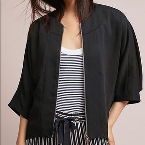 NWT Anthropologie Cartonnier Black Jaye Jacket S